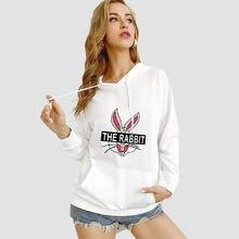 Женские и мужские толстовки с капюшоном тонкий свитер мультяшный