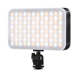 Светодиодная лампа для камеры, мини-карманная Регулируемая яркость, сверхмощная заполняющая световая панель для видеокамеры/Canon, Nikon, Sony DSLR ...