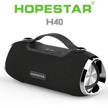 Переносная Водонепроницаемая bluetooth-Колонка HOPESTAR H40, 3D стерео сабвуфер, mp3-плеер, динамик, FM-радио, TF, USB, музыкальный центр