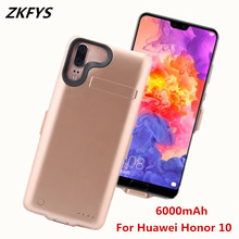 чехол аккумулятор For Huawei Honor 10 Battery Charger Case Power 6000mAh External Bank Charging