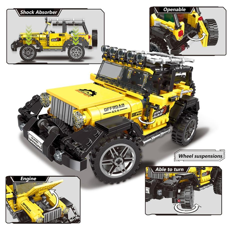 XINGBAO-03024-NEW-Creative-TECHNIC-Series-610-PCS-Super-Truck-Model-Off-Road-Car-Building-Blocks (1)