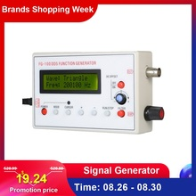 1HZ-500KHZ DDS Functional Signal Generator Frequency Generator Sine + Square + Triangle + Sawtooth Waveform dds function signal generator module diy kit frequency generator square sawtooth triangle wave diy parts signal source