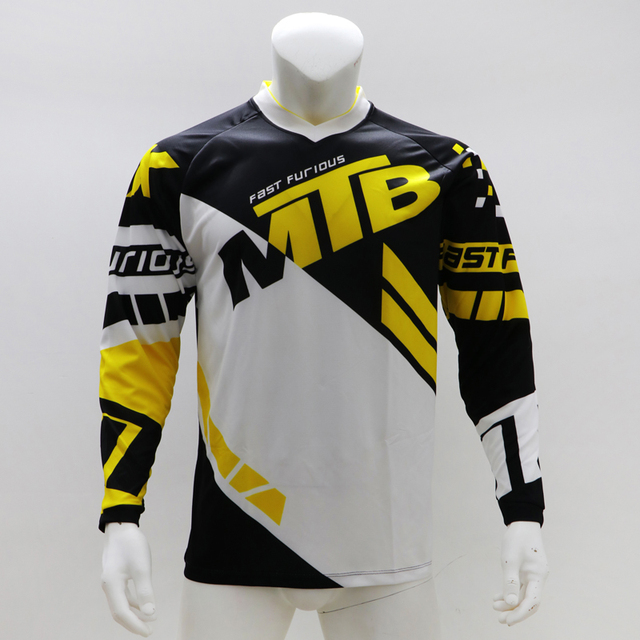 2020 moto VTT descente motocross maillot vtt tout-terrain DH MX vélo longue Enduro chemise vélo de fond chemise