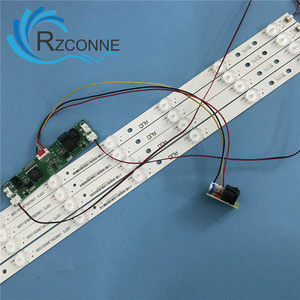 Image 5 - 651 มม.* 17 มม.9 LEDs LED โคมไฟ LED อินเวอร์เตอร์สำหรับ 32 นิ้ว TV Monitor และป้ายโฆษณา