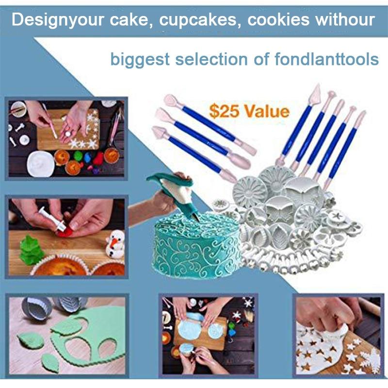 220pcs Decorating Nozzle Set Cake Tools Cake Decoration Kitchen DIY Icing Piping Cream Reusable Kit Baking Tools Cake Tools Set 5