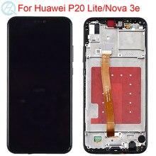 2280*1080 oryginalny LCD do Huawei P20 Lite LCD z ramką ekran dotykowy montaż ANE-LX1 LX3 wyświetlacz P20 Lite ekran