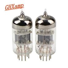 Вакуумный трубчатый усилитель GHXAMP 6N1 класса J, военный врачебный клапан, Замена клапана ECC85 6H1n для Hi Fi усилителя звука, 2 шт.