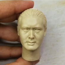 "BLANK 1/6 Scale Man จากมาเก๊า Chow Yun FAT HEAD Sculpt Unpainted Fit 12 ""รู(China)"