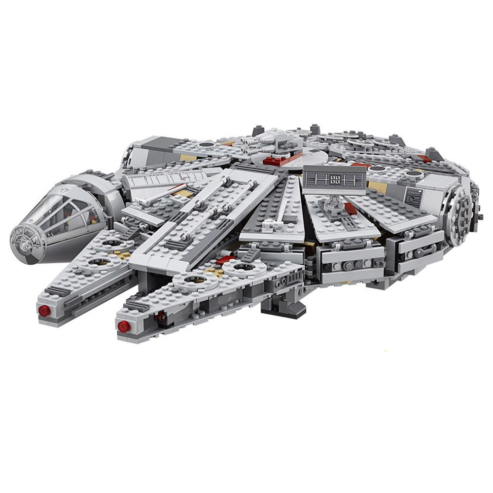 1381Pcs Force Awakens Star and Wars 05007 Compatible 75105 Millennium 79211 Falcon Model Building Blocks Toys For Children image