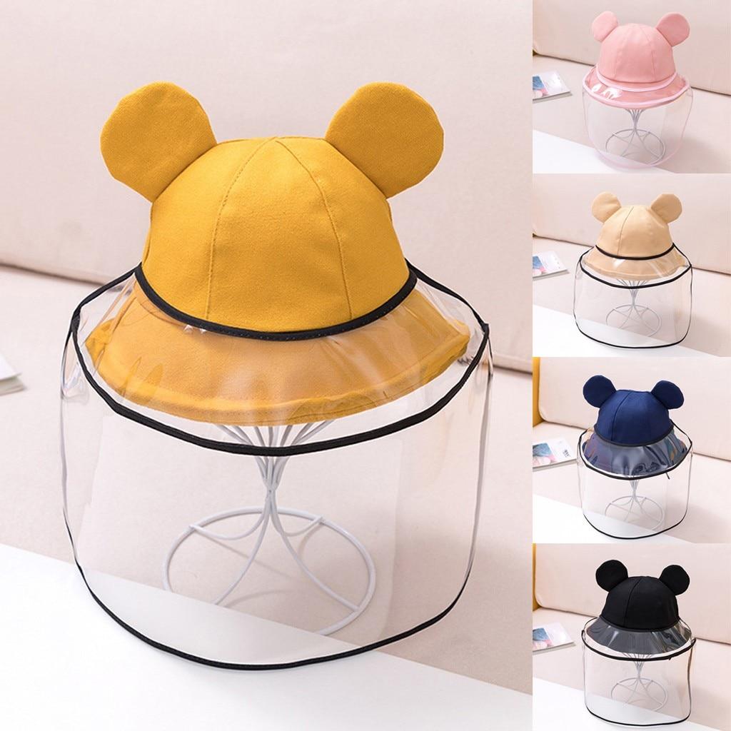 2020 chapéu para a menina do bebê anti-cuspindo capa protetora dustproof crianças meninos meninas pescador boné chapéu do bebê menino acessórios