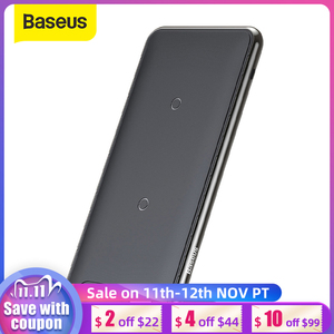 Image 1 - Baseus 10W 3 Coils Wireless Charger For iPhone 11 X/XS XR Multifunction Qi Wireless Charging Pad Horizontal/Vertical Charger Pad