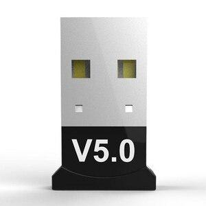Беспроводной USB Bluetooth 5,0 адаптер приемника V5.0, Bluetooth аудио приемник, адаптер музыкального приемника, Aux передатчик для ПК|Беспроводные адаптеры|   | АлиЭкспресс