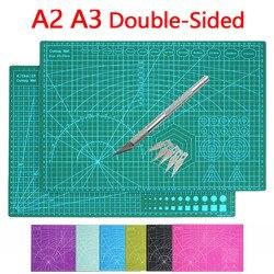 A2 A3 цветной многофункциональный ПВХ самозаживляющий коврик для резки доска разделочный нож для резки бумаги в принтере инструменты для изг...