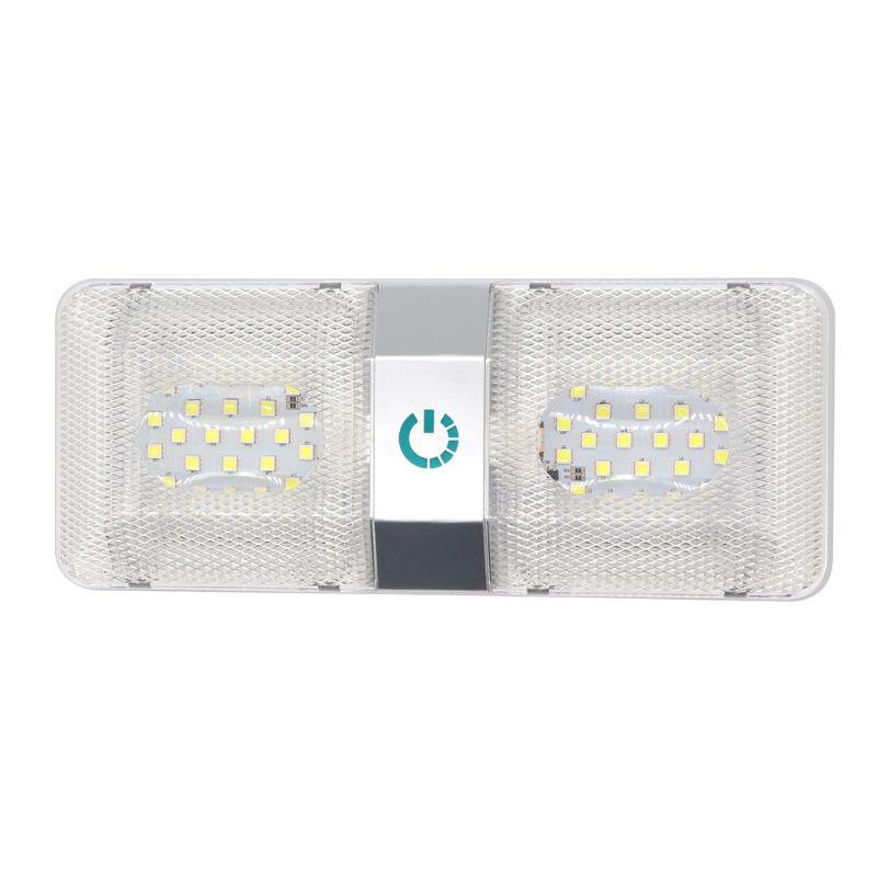 6 w 12 v abs led rv teto dome luz rv interior luzes de iluminacao reboque