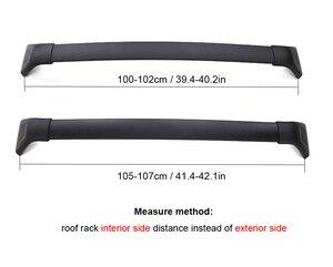 Image 3 - Engrossar barra transversal da cremalheira do telhado da barra transversal da bagagem para mazda CX 5 2017 2018 2019 2020, engrossar a liga de alumínio, recomended forte.