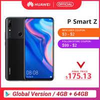 Globale Versione Huawei P Smart Z 4GB 64GB Kirin 710F Octa core Per Smartphone Auto Pop Up Fotocamera Frontale 6.59 ''Cellulare Supporto NFC
