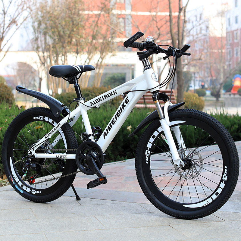 Mountain Bike student variable speed double disc brake shock absorption 26 inch mountain bike image