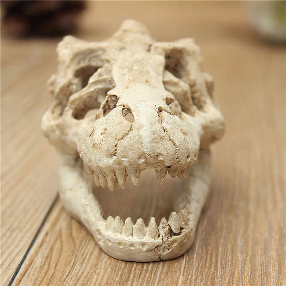 1 個ドラゴン樹脂水族館/テラリウム装飾ワニ用水槽樹脂飾り飾るあなたの水槽