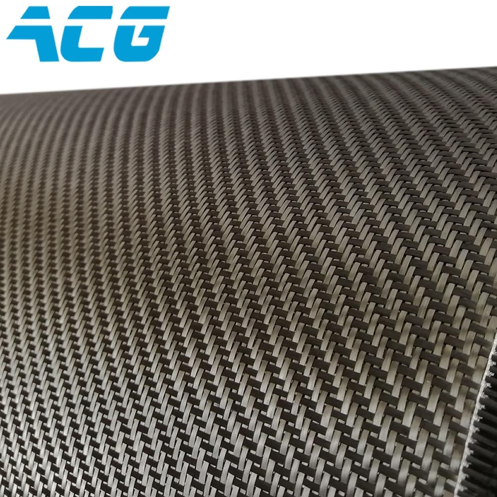 Tissu en fibre de carbone tissu 10 m/lot 3K 200GSM pour pièces automobiles