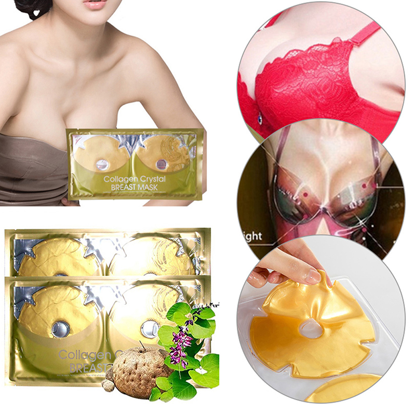 Breast-Mask Bodycare-Tools Skin Firming Collagen for Professional Lifting Pleura Crystal