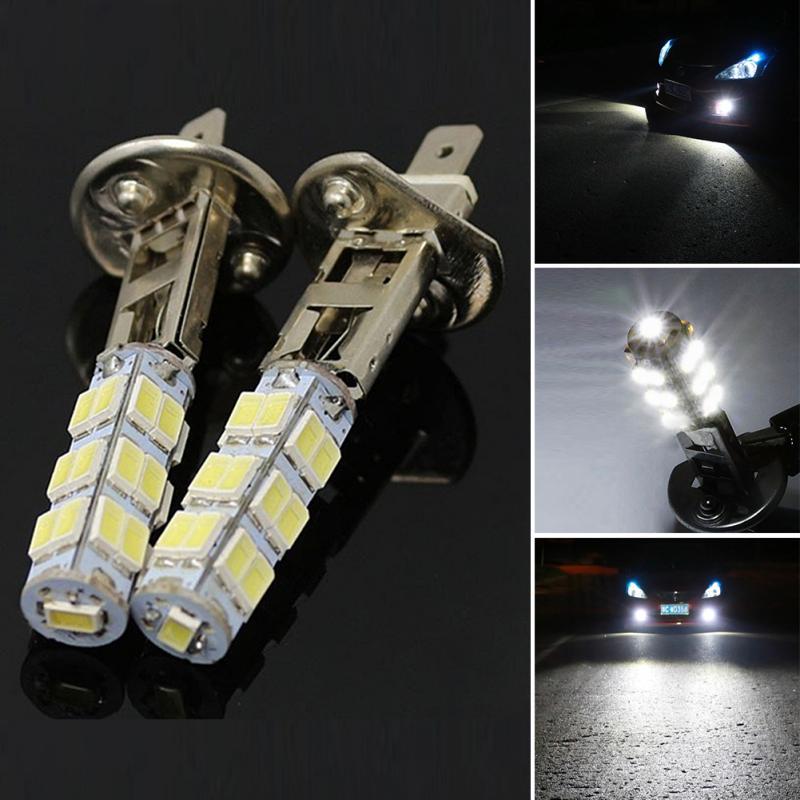 Ultra Bright LED Vehicle light Car Fog Lamp Auto Replace Bulbs H1 1210SMD LED Universal Cars