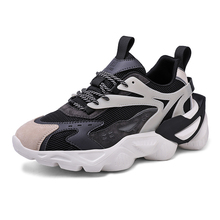 Chunky Sneakers Trainers Sports-Shoes Anti-Slip Jogging Breathable Running Men's Senior