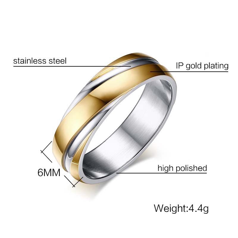 FXM 2020 CR10 most popular new arrival fine silver ring have Flowing golden line colors choose free shipping