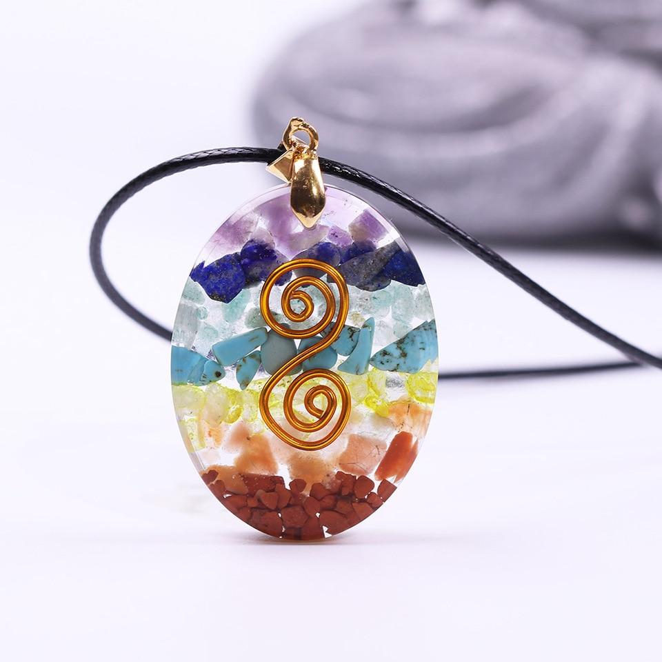 chakra cleansing meditation jewelry seven chakras necklace Meditation necklace empathy chakra cleansing reiki jewelry yoga jewelry