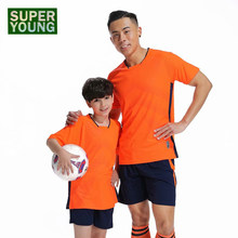 Kinder Fußball Trikots Fitness Shorts Kinder Sport Training Tops Workout Gym Kleidung Set Männer Laufen Jogging Anzüge Sportswear(China)