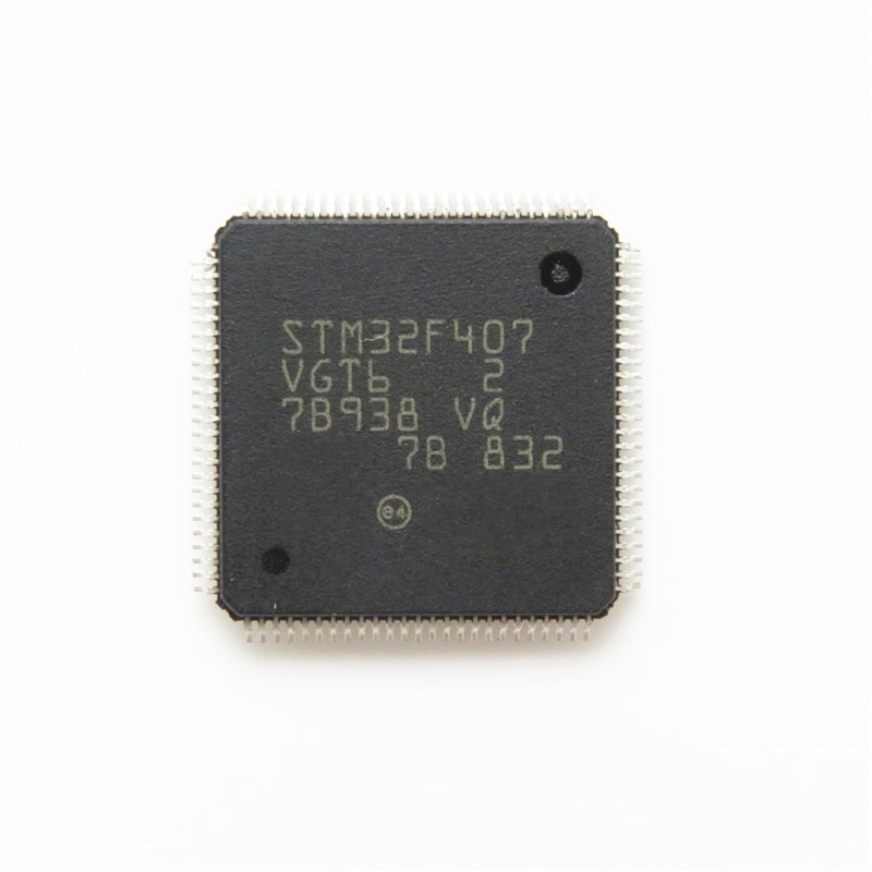 1pcs/lot STM32F407VGT6 32F407VGT6 STM32F407 TQFP-100 In Stock