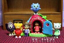 Mignon Daniel de quartier tigre, garçon, fille, Lion, oiseau, jouet, poupée cadeau danniversaire