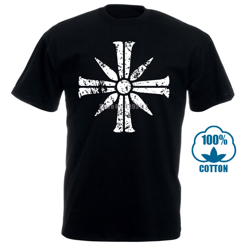 >Cross Sign From Far Cry 5 T Shirts Fitness 2018 Stylish Building For Men O <font><b>Neck</b></font> <font><b>Streetwear</b></font> Leisure Anlarach Custom 011536
