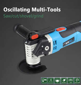 NEWONE Multi-Functional Electric Saw Renovator Tool Oscillating Trimmer Home Renovation Tool Trimmer woodworking Tools - DISCOUNT ITEM  37% OFF All Category