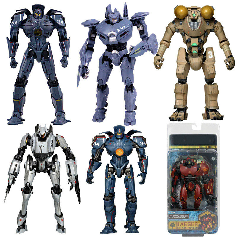 7 Inch NECA Pacific Cipsy Danger Rim Mechanical Human Machine Toy Assault Eureka Movable Doll Model Actioon Figure With Box