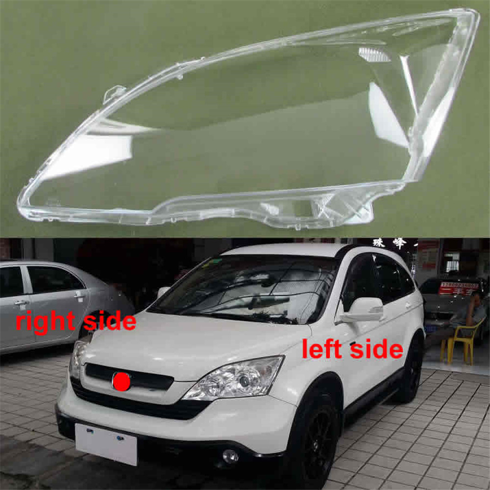 Car Accessories Headlight Cover Glass Lens Lampshade Fit for <font><b>Honda</b></font> CRV <font><b>CR</b></font>-<font><b>V</b></font> <font><b>2007</b></font> <font><b>2008</b></font> <font><b>2009</b></font> <font><b>2010</b></font> 2011 Headlamps Transparent Shell image