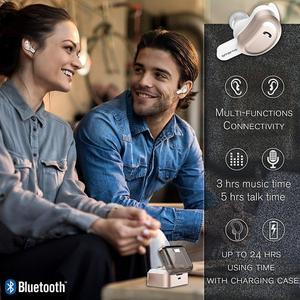 Image 5 - Amorno Drahtlose Eaephones in ohr Ohrhörer Drahtlose Bluetooth Kopfhörer Noise Cancelling Écouteur Sans Fil Bluetooth Bass Headset