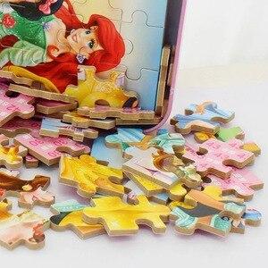 Image 5 - Marvel Avengers Spiderman, jeu authentique, Puzzle dhistoire pour enfants, Puzzle en bois, jouets éducatifs pour enfants, idée cadeau