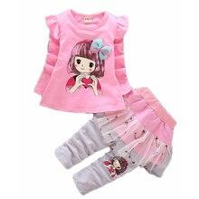 Комплекты одежды для маленьких девочек на весну и осень детская