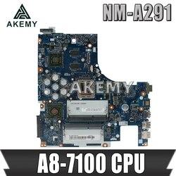 Z50 75 płyta główna dla Lenovo Z50 75 G50 75M G50 75 płyta główna ACLU7/ACLU8 NM A291 Rev1.0 z A8 7100 Test procesora 100%|Płyty główne|   -