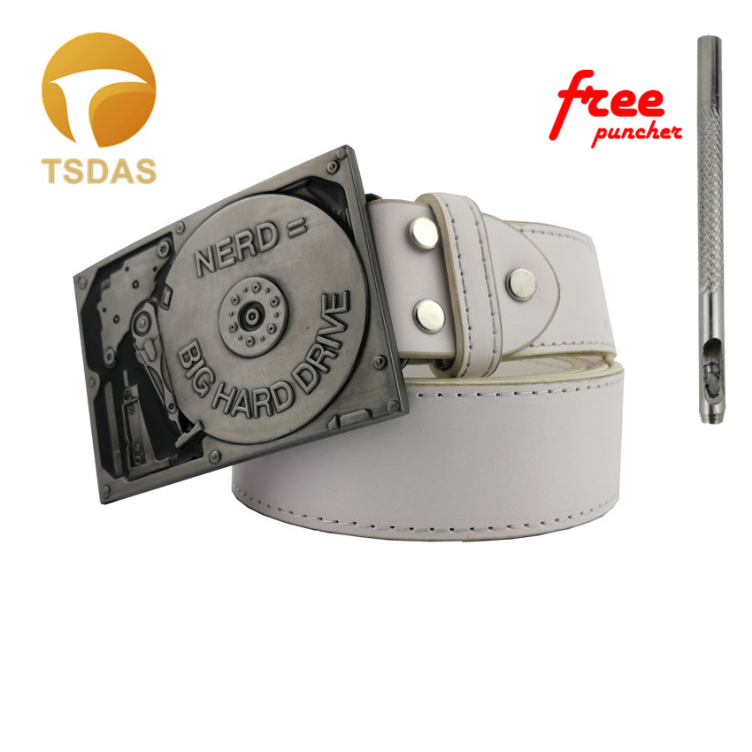 3D Belt Buckle Men Accessories Zinc Alloy ACDC Rock Music Belt Buckles Classic