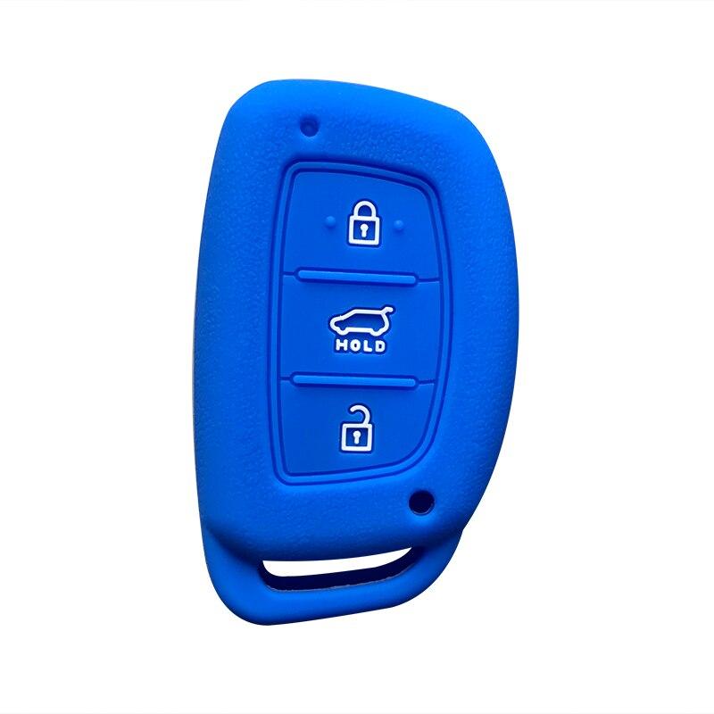 For Hyundai Tucson 2019 Silicone Key Cover For Hyundai Elantra 2019 Key Case 3 Button For Hyundai Sonata Mistra Sonata Key Cover