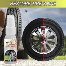 30 мл блеск для шин спрей для остекления покрышек удерживает шину черная резина защитное покрытие для автомобильных шин комплект покрытий в...