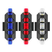 2020 New Outdoor Cycling Super Bright LED Light USB Rechargeable Tail Safety Warning Bicycle Light Waterproof Light For Cycling