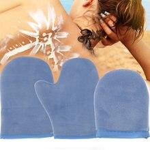 Перчатка для очистки тела автозагар многоразовый аппликатор