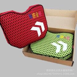W nowym stylu 2 w 1 pudełko rybackie poduszka siedziska Sucker zhan tiao wędkarstwo poduszka do siedzenia poduszka gruba wodoodporna i oddychająca Fi w Reflektory od Lampy i oświetlenie na