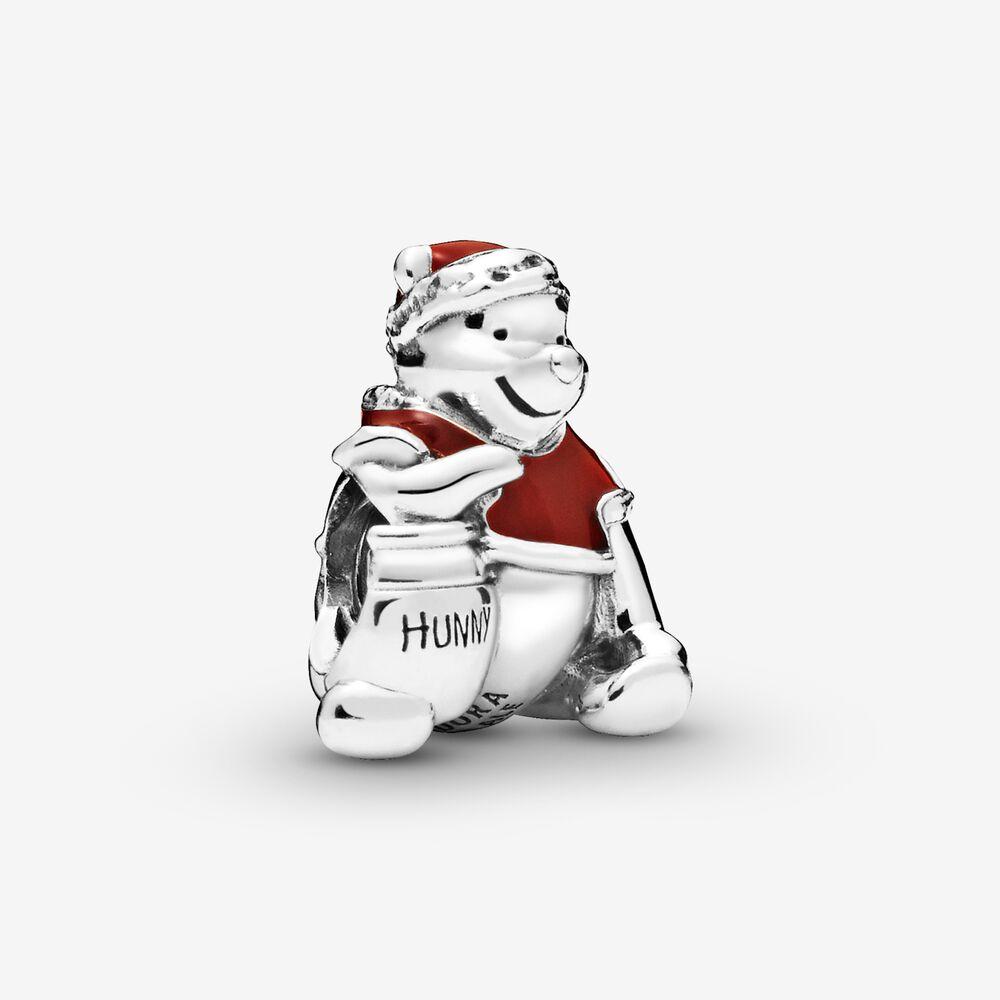 36Winnie the Pooh Hunny Pot Christmas Charm