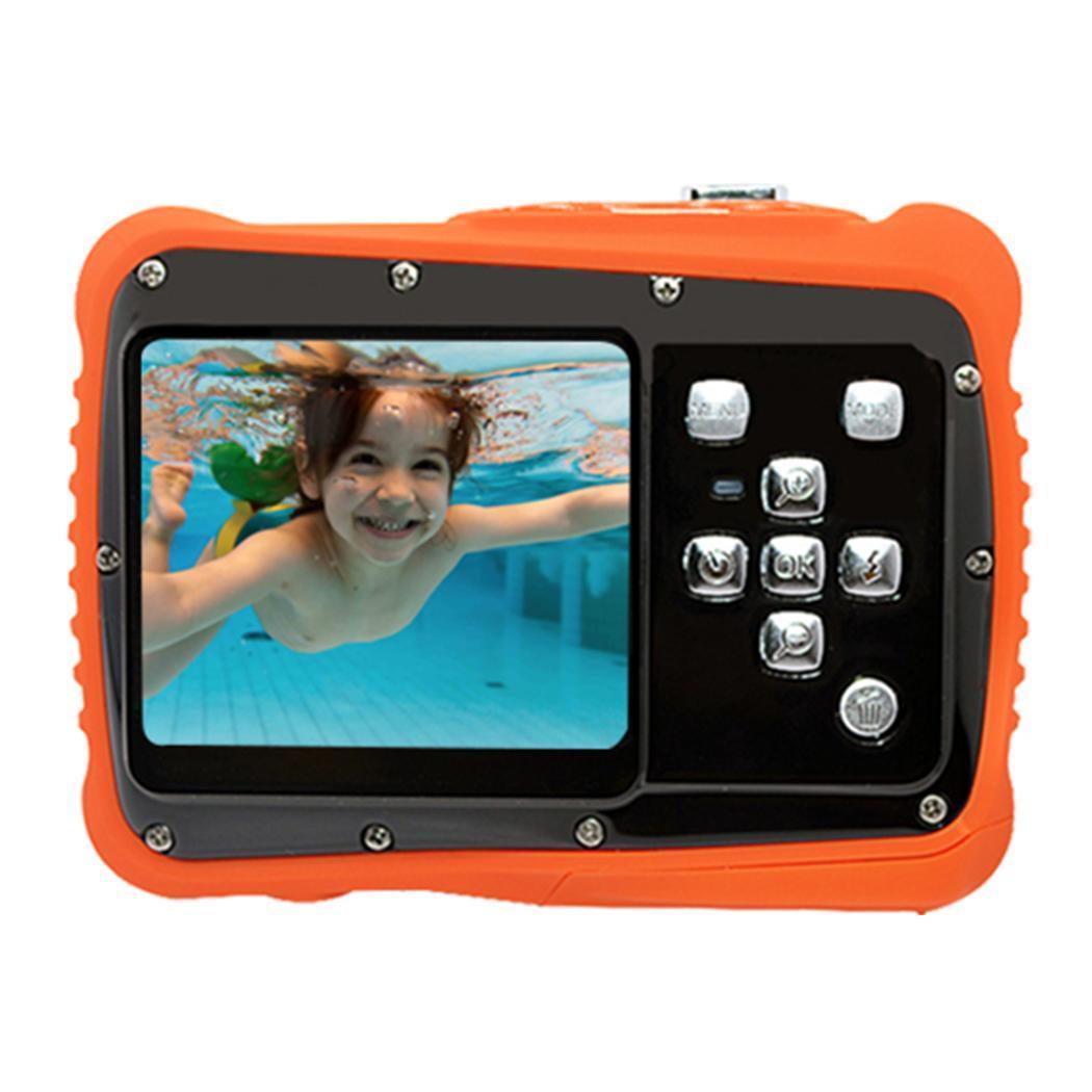 Portable pratique étanche mignon enfants caméra jouet 120min 12 millions> 3 ans USB 2.0 jouet interactif