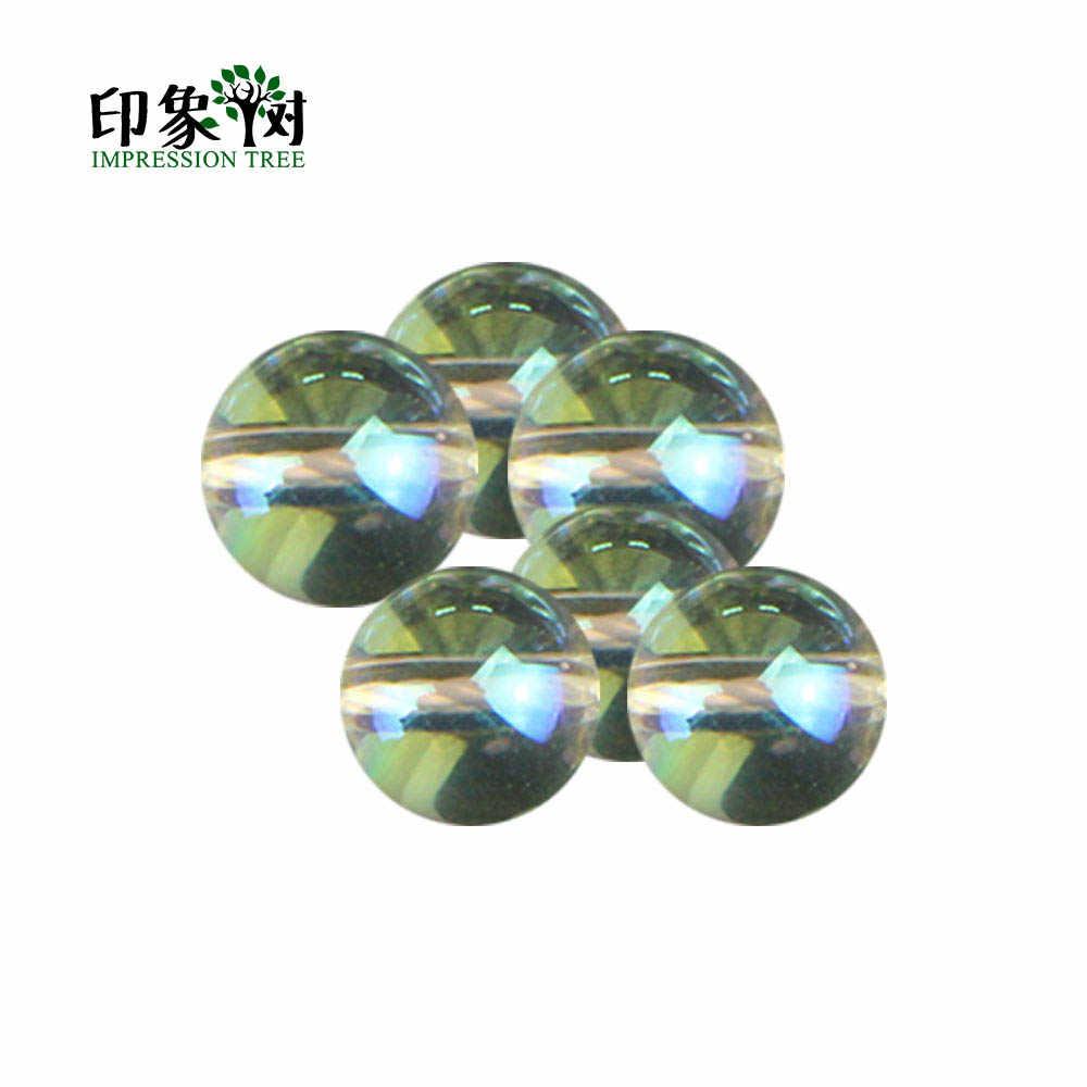 1 Pcs Ronde Glazen Ab Kleur Kraal 4 6 8 10 12 Mm Losse Glazen Ab Kleur Kraal Voor Diy sieraden Makings Ketting Armband 2957