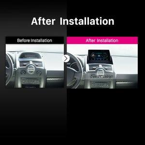 Image 5 - Seicane 2Din Car Radio 9 Inch For Renault Megane 2 2004 2005 2008 Android 9.1 car Multimedia Player GPS Nagationi Head Unit TPMS