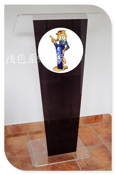 Hot SellingDurable Acrylic Podiums Pulpits With Logo